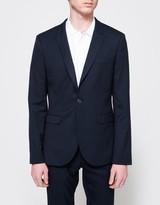 Topman Diamond Weave Skinny Jacket