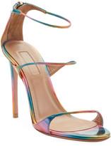 Aquazzura Minute Holographic High Sandals