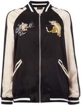 Bardot beau longsleeve bomber jacket