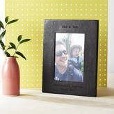 NV London Calcutta Personalised Leather Photo Frame