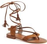 Hinge 'Avery' Wraparound Strap Sandal (Women)
