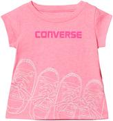 Converse Pink Glow Kicks Graphic Tee