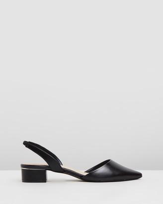 Aldo Anathana Leather Slingback Heels