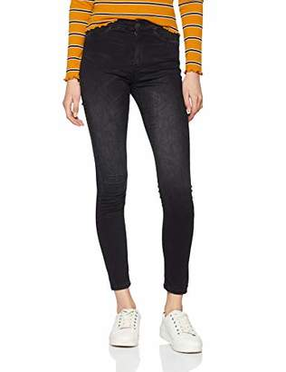 JDY Women's JDYELLA Jegging HW Grey DNM NOOS Skinny Jeans, Denim
