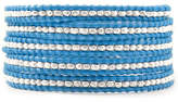 Chan Luu Sky Blue Wrap Bracelet