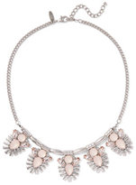 New York & Co. Silvertone Beaded Necklace