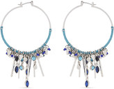 Rebecca Minkoff Gemma charm hoop earrings