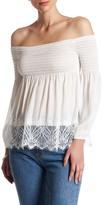 BB Dakota Locllear Off-the-Shoulder Blouse
