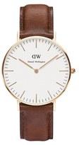 Daniel Wellington Classic St Mawes Rose Watch Tan