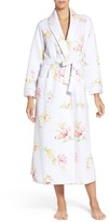 Carole Hochman Women's Rose Print Quilted Robe