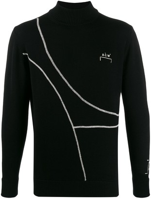 A-Cold-Wall* Knitted Logo Jumper