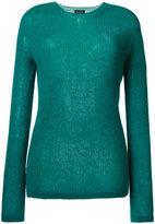 Roberto Collina ribbed sweater - women - Nylon/Spandex/Elastane/Mohair/Alpaca - S