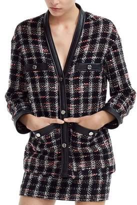 Maje Visidio Tweed Blazer