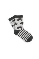 Country Road Panther Sock