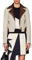 J.W.Anderson Women's Canvas & Lambskin Moto Jacket