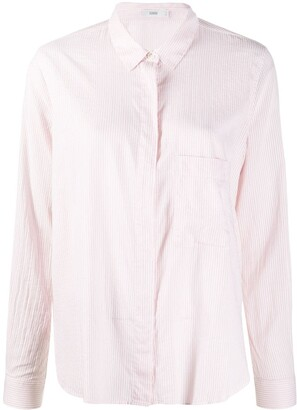 Closed Striped Button-Up Shirt