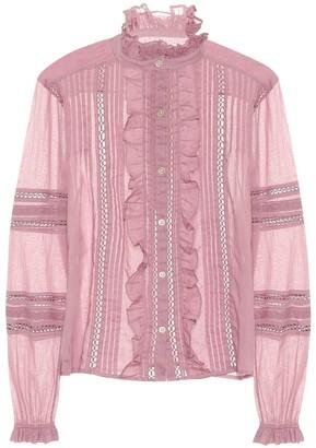 Etoile Isabel Marant Isabel Marant, étoile Valda cotton blouse