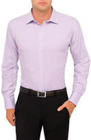 Van Heusen Basket Weave Check Euro Fit Shirt