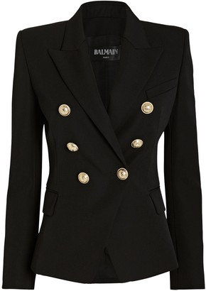 Balmain Double Breasted Suiting Blazer