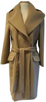 Hobbs Camel Wool Coat for Women