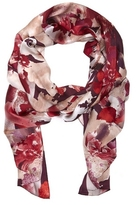 Vince Camuto Painterly Bloom-print Scarf