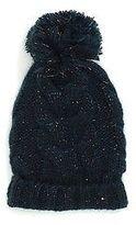Tommy Hilfiger Big Girl's Cableknit Pom-Pom Hat