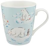 Cath Kidston Polar Bears Mug, Ice Blue, 475ml