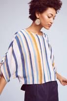 Blank Vertical Stripes Top