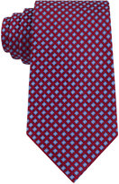 Club Room Men's Geo-Pattern Classic Tie, Created for Macy's