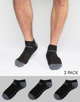 Jack & Jones Tech Sports Trainer Socks 3 Pack