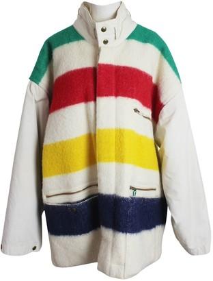 JC de CASTELBAJAC Multicolour Wool Coat for Women Vintage