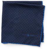 Polo Ralph Lauren Neat Silk Pocket Square