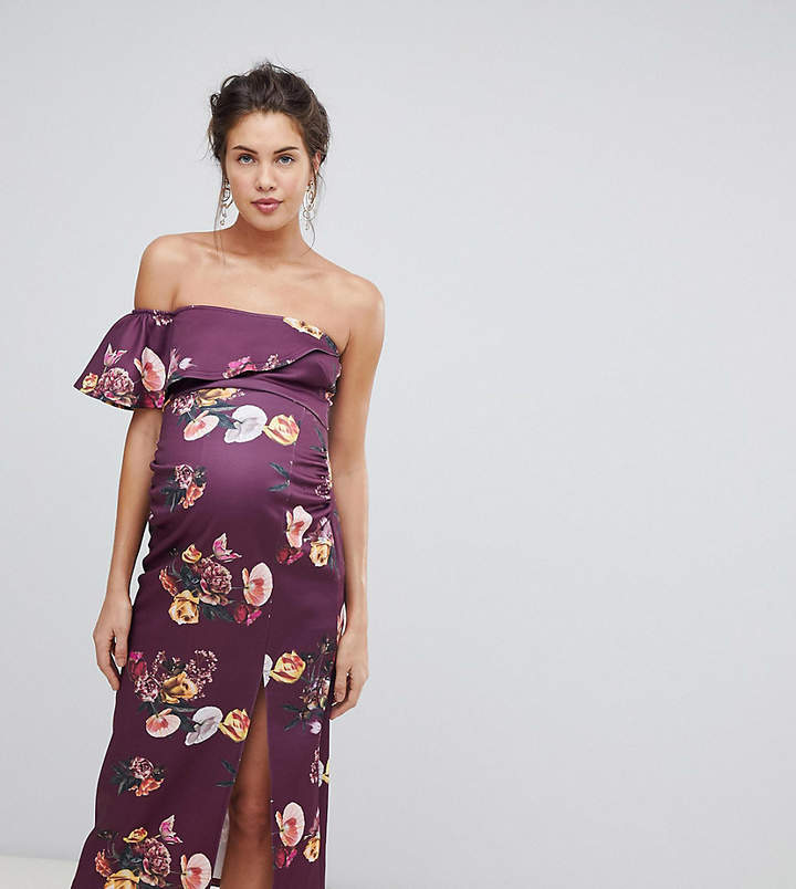1a72863ee0b6a One Shoulder Maternity Dress - ShopStyle Australia