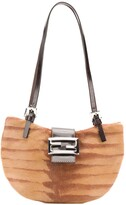 Fendi Pre Owned half round shoulder bag
