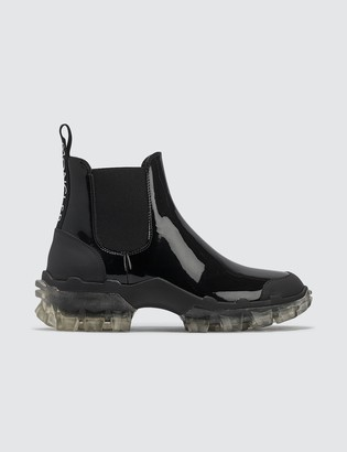 Moncler Tread Leather Chelsea Boots