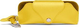 Prada Lettering Logo Glasses Case