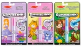 Melissa & Doug Kids' Surprise Ink Jungle Animals, Pets & Fashion Gift Set
