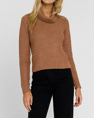 Express English Factory Cowl Neck Sweater