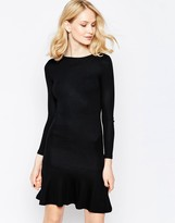 French Connection Orchard Long Sleeve Swing Dress