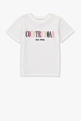 Country Road Verified Australian Cotton Multi Heritage T-Shirt