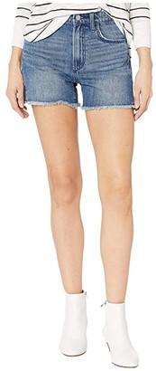Joe's Jeans Kinsley Short Fray Hem Shorts in Hyssop (Hyssop) Women's Shorts