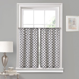 Vue Window Solutions Modo Window Curtain Tier Pair