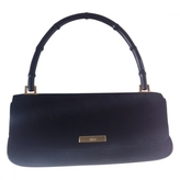 Gucci Black small suede bamboo bag