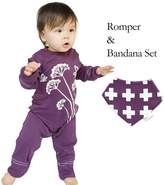 Wee Urban Romper and Bandana Bib Set