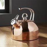 Crate & Barrel Chantal ® Classic Copper Tea Kettle