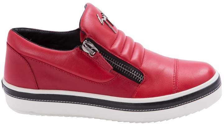 Giuseppe Zanotti Leather low trainers