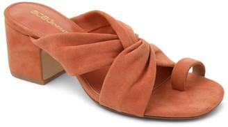 BCBGeneration Toe Thong Leather Slip-On Sandals- Dextar