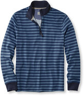 L.L. Bean Casco Bay Quarter-Zip, Long-Sleeve Stripe