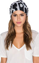 Michael Stars Big Cat Slouch Beanie in Gray.