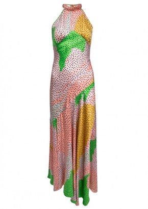 De La Vali Multicolour Silk Dresses